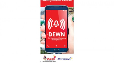 DEWN Early Warning App from Dialog Axiata