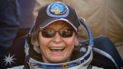 Record-Setting US Astronaut Whitson Retires