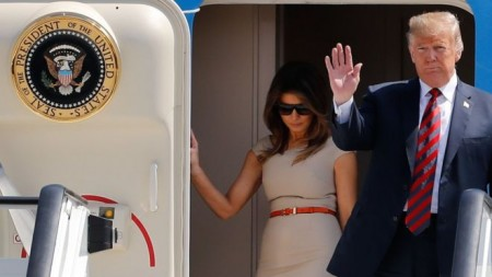 Donald Trump to arrive at Stansted Airport for UK state visit