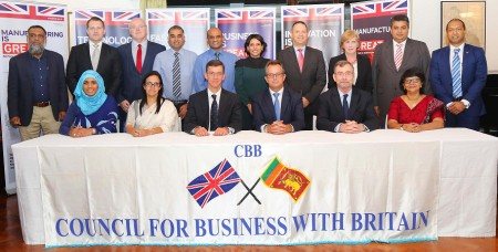 Council for Business with Britain steps into enhance SL-UK Trade