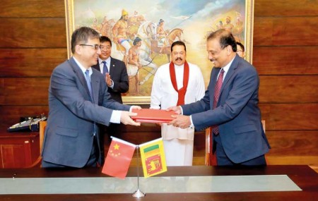 Sri Lanka extends begging bowl to China for US $500 million