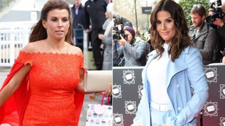 Coleen Rooney and Rebekah Vardy in row over 'leaked stories'