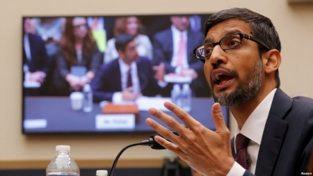 Google CEO Tells Lawmakers Tech Giant Operates 'Without Political Bias'