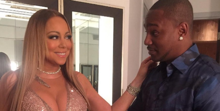 Cam'ron Went For The Threesome With Mariah Carey