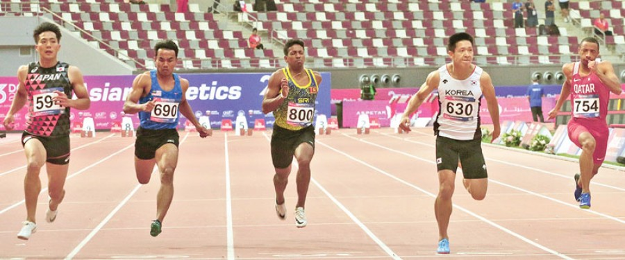 Lankan medal hopes dashed