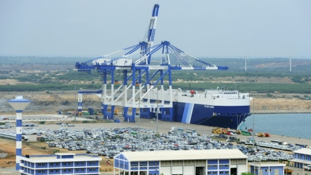 Hambantota Port signs historic TSA with K-Line