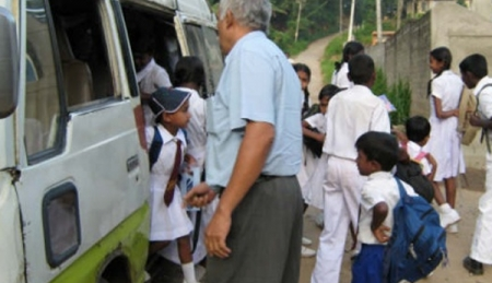 'School van charges up 5 percent'