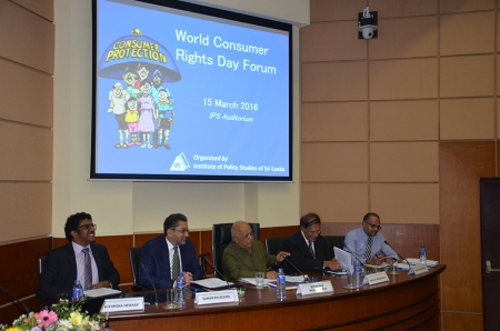 World Consumer Rights Day Forum 2016 - IPS Calls for Policy Makers to Engage   More with Consumers
