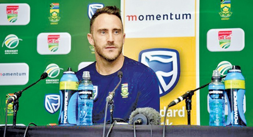 South African captain Du Plessis seeks Sri Lankan 'breaking point'