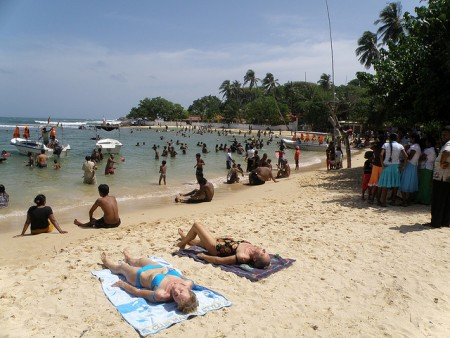 US travelers asked to take normal precautions when they visit Sri Lanka
