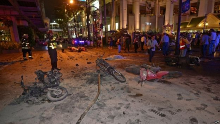 Bangkok bomb: Deadly blast rocks Thailand capital