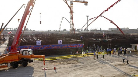 Iran Begins Pouring Concrete For 2nd Nuclear Power Reactor