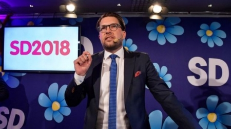 Swedish election: Main blocs neck and neck as nationalists gain