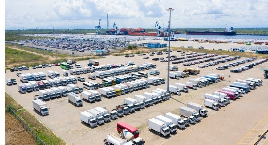 Hambantota Port handles highest vehicle reshipment volume