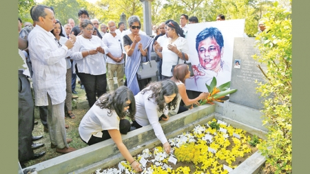 Remembering Lasantha, 10 years on…