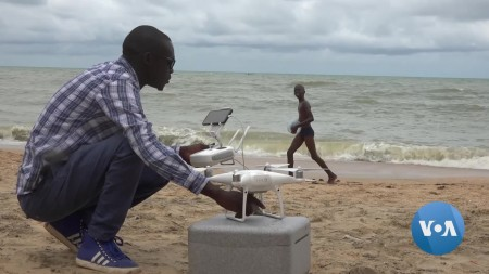 Recycled Refrigerators, Imported Carbon Fiber Form 'Made-In-Senegal' Drones