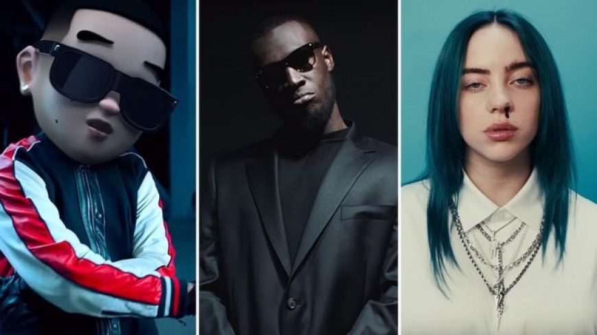 Daddy Yankee, Stormzy and Billie Eilish are YouTube's most-watched of 2019