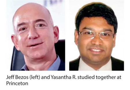 Lankan who solved maths problem for Jeff Bezos and gave world Amazon