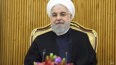 Iran's Rouhani Vows No Talks With US as Long as Sanctions Remain