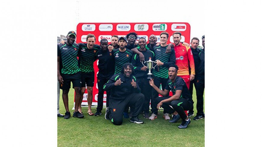 Zimbabwe seal ODI series clean sweep against UAE