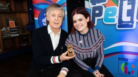 Sir Paul McCartney adds gold Blue Peter badge to awards haul