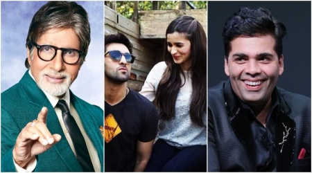 Karan Johar announces his upcoming film trilogy with Amitabh Bachchan, Ranbir Kapoor and Alia Bhatt