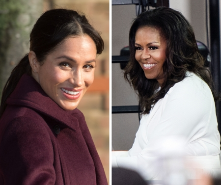 "Meghan Markle and Michelle Obama Reportedly Had a ""Power Meeting."""