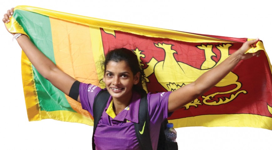 Vidusha wins bronze for Sri Lanka