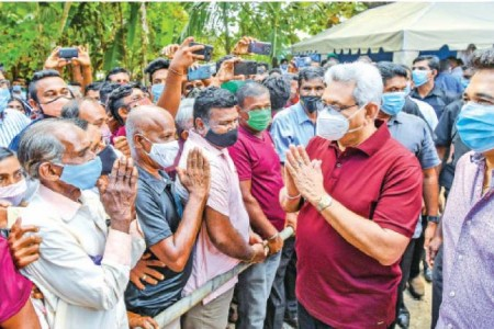 President says policy decision required to legalise cannabis in SL