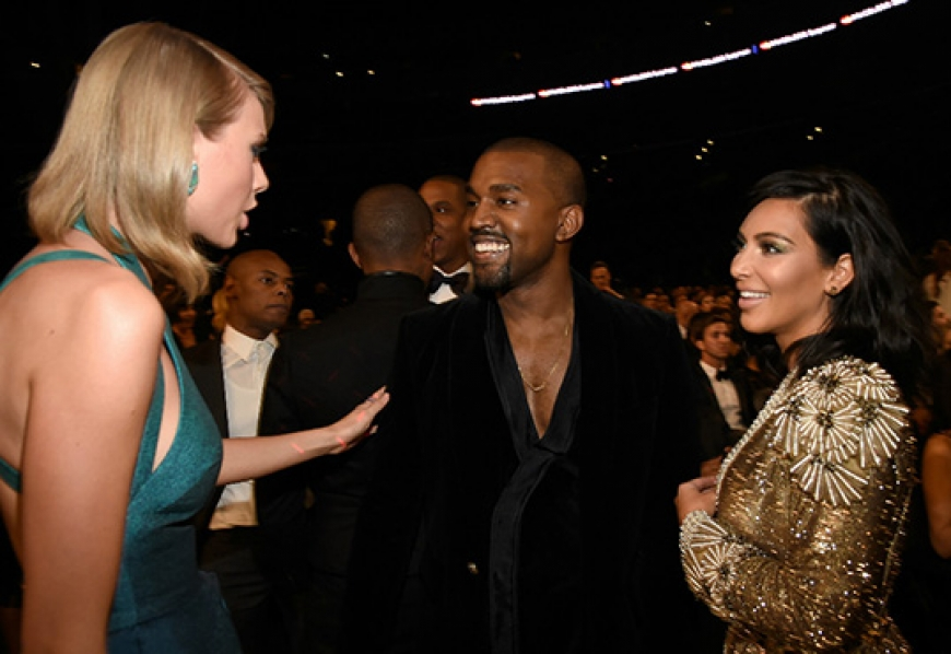"Kim Kardashian Says There's Footage Of Taylor Swift Co-Signing Kanye's ""Famous"""