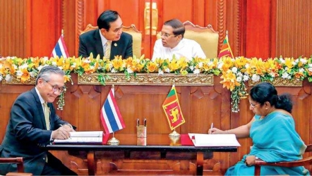 Sri-Lanka and Thailand to boost trade and technical cooperation