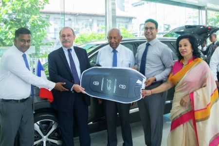 French Ambassador lauds Carmart's service in promoting Peugeot