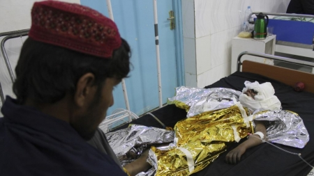 US Airstrike Reportedly Kills Dozens of Afghan Civilians