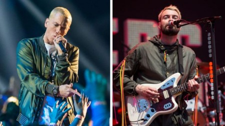 Eminem 'crossed a line', says Courteeners singer