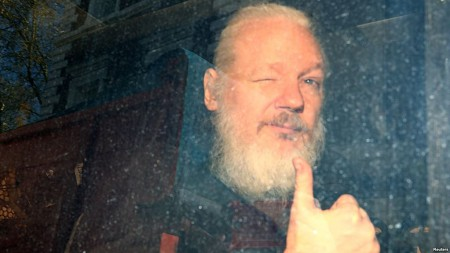 US Charges WikiLeaks Founder Assange After London Arrest