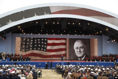 Trump Joins Other Leaders for D-Day Ceremonies