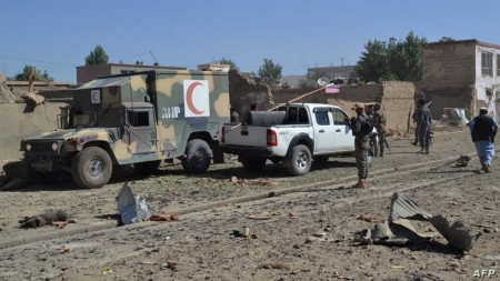 Deadly Car Bombing Hits Key Afghan Security Facility in Ghanzi
