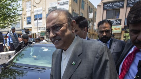 Pakistan Arrests Ex-President Zardari on Corruption Charge