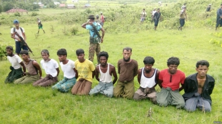 At Site of Rohingya Massacre, Burmese Villagers Wary of Press