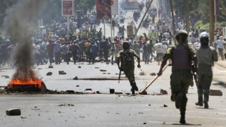 Kenya opposition Cord protests turn deadly in Kisumu