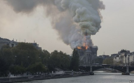 Fire Causes Massive Damage to Paris' Notre Dame Cathedral