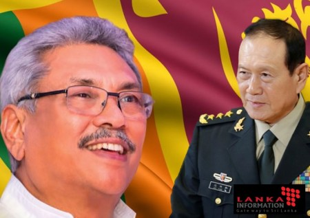 Chinese Defence Minister visits Sri Lanka strengthening strategic ties.