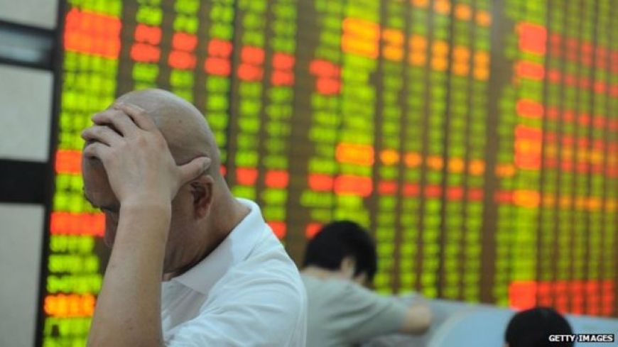 Chinese shares trade lower again after days of volatility