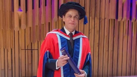 London's University of Law awards Shah Rukh Khan honorary doctorate